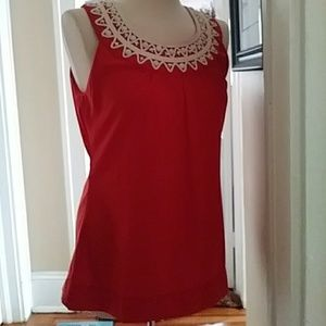 🆕🌺Banana Republic sleeveless top